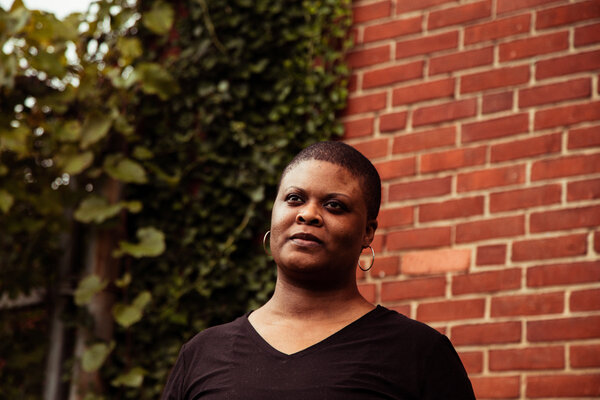Chimére Smith, a teacher from Baltimore, has struggled with the aftereffects of contracting Covid-19 in March.