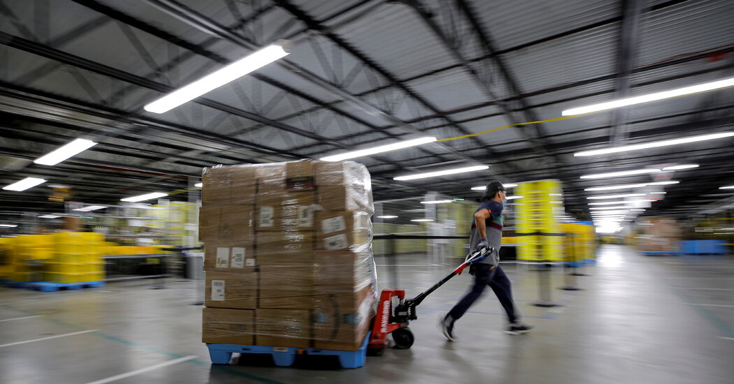 With 3 Billion Packages to Go, Online Shopping Faces Tough Holiday Test