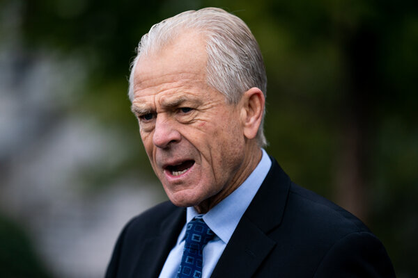The Office of Special Counsel ruled that Peter Navarro's attacks on Joseph R. Biden Jr. violated the Hatch Act's prohibition on attempts to influence elections.