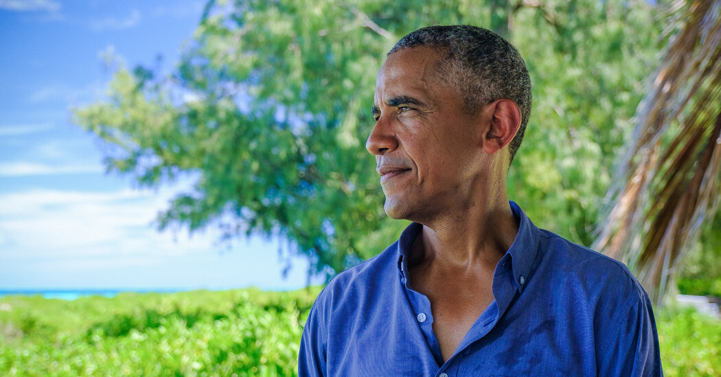 Obama, the Best-Selling Author, on Reading, Writing and Radical Empathy