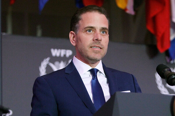 Hunter Biden is being investigated by the Justice Department.