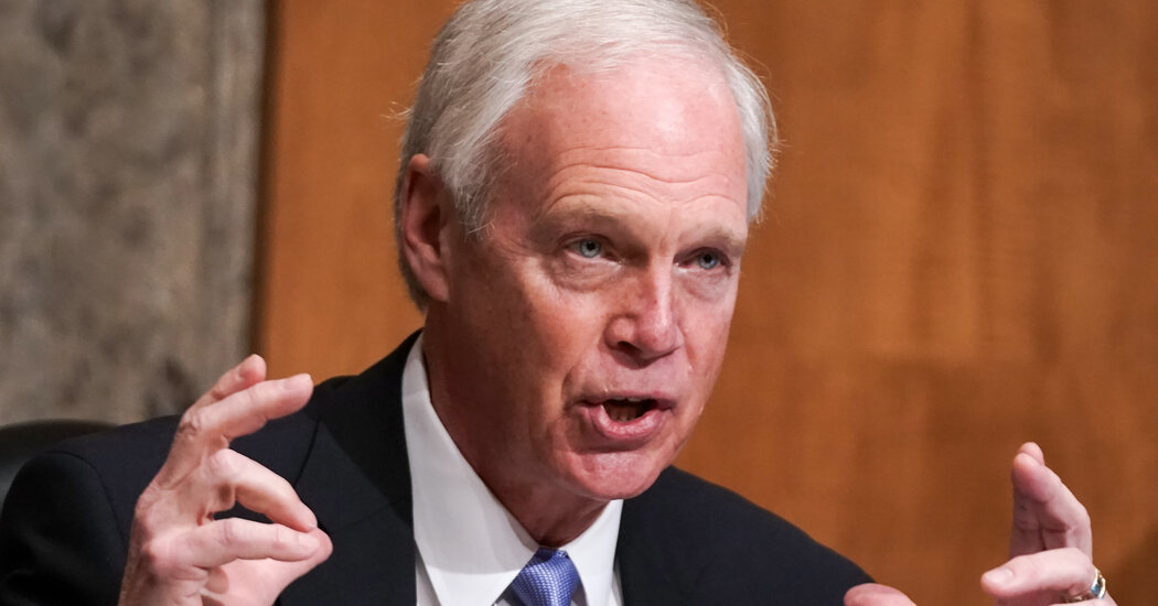The election is over, but Ron Johnson keeps promoting false claims of fraud.