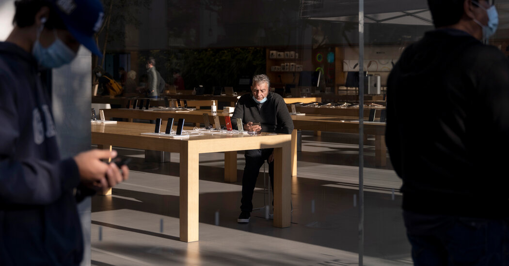 Apple closes all California stores as virus cases spike.