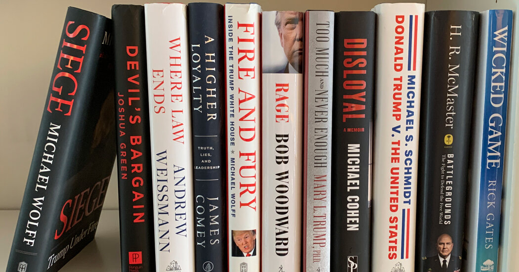 The 'Trump Bump' for Books has Been Significant. Can It Continue?