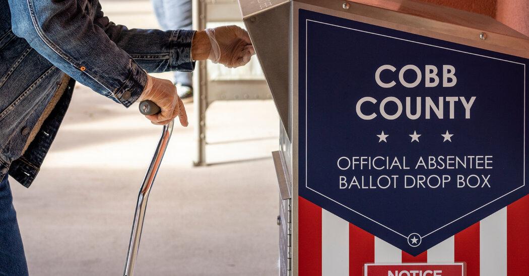 Georgia Senate Runoff Targeted by Misinformation 'Superspreaders'
