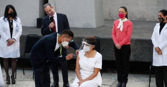 Mexico starts launching Covid vaccine