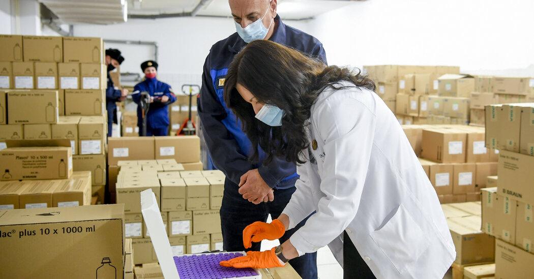European Union Officially Begins Coronavirus Vaccine Rollout