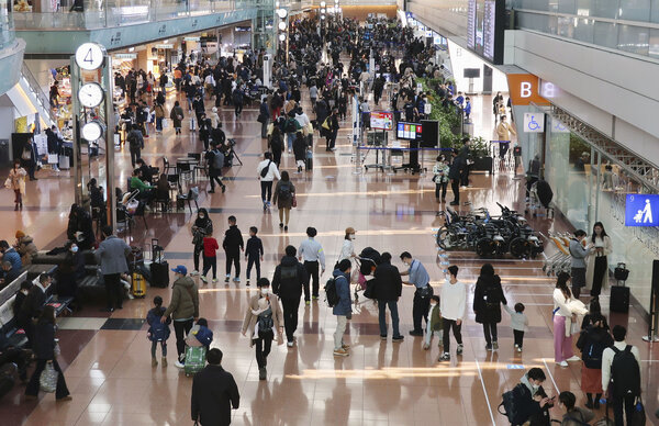 The discovery of the virus variant in Japan prompted the country to close its borders to all new entry by nonresident foreigners.