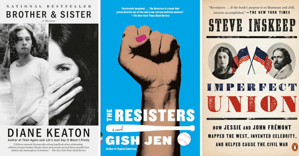 New in Paperback: 'Brother & Sister' and 'The Resisters'