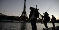 Catch a Fish in Paris. Post on Social Media. Release.