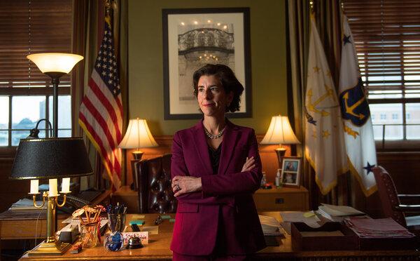 President-elect Joseph R. Biden Jr. has selected  Gov. Gina Raimondo ofRhode Island for Commerce Secretary.