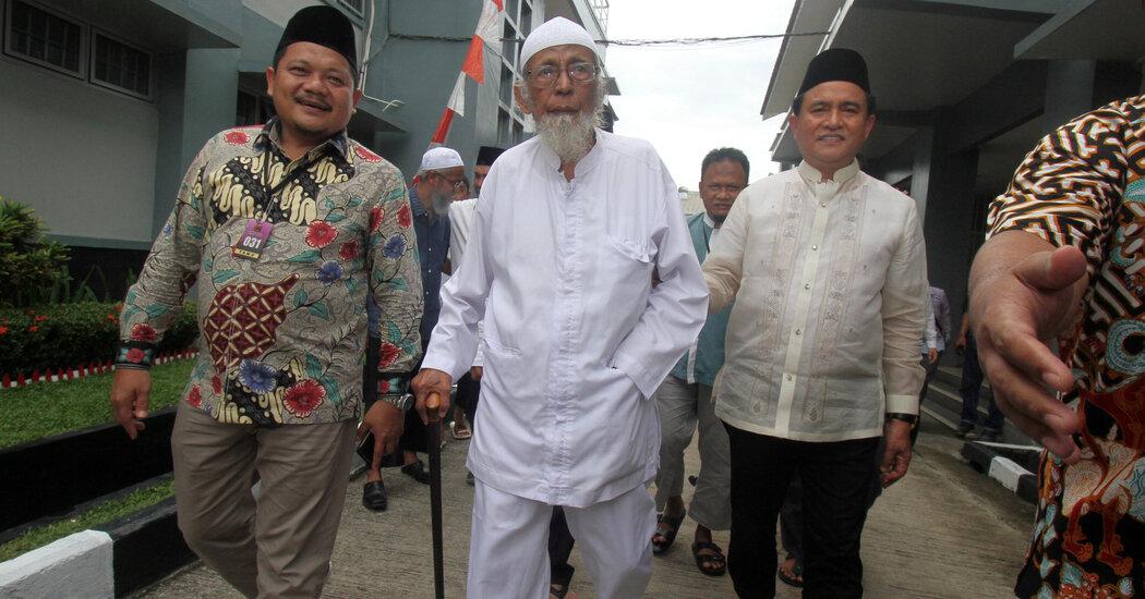 Abu Bakar Bashir, Indonesian Cleric Tied to Bali Bombing, Is Freed