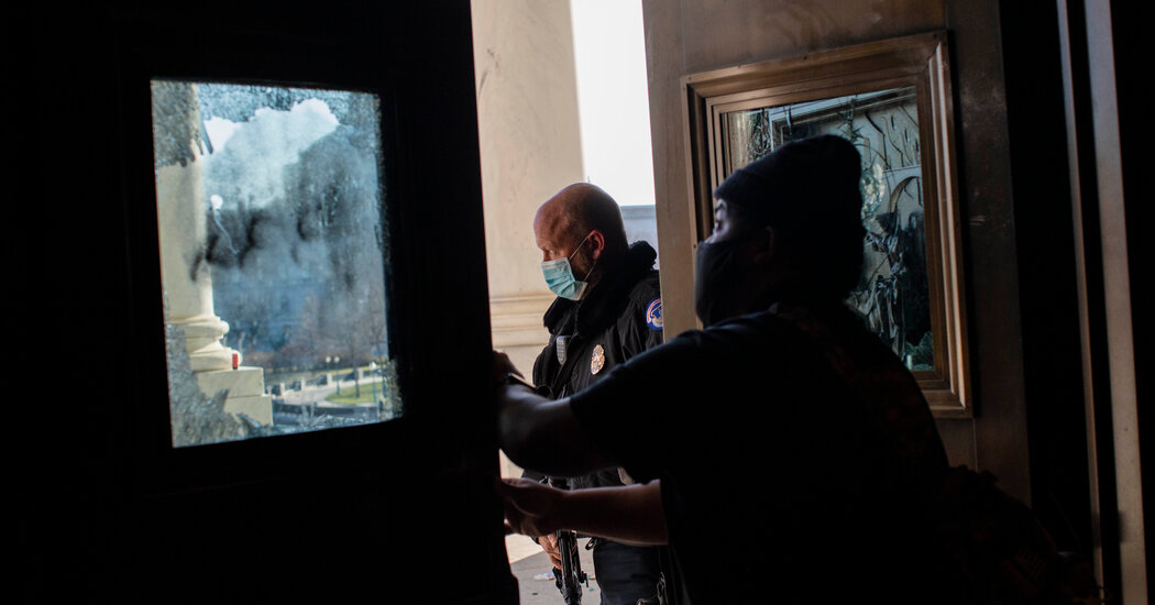 First Inventory of Damage to U.S. Capitol Building Released