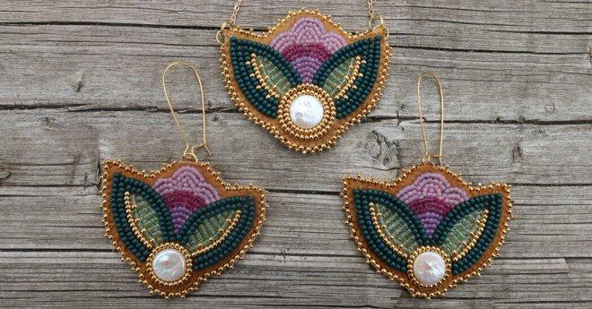 Indigenous Beadwork Drops on Instagram