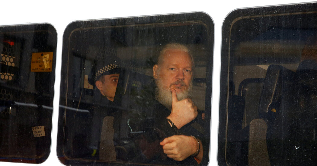 With Trump Presidency Winding Down, Push for Assange Pardon Ramps Up