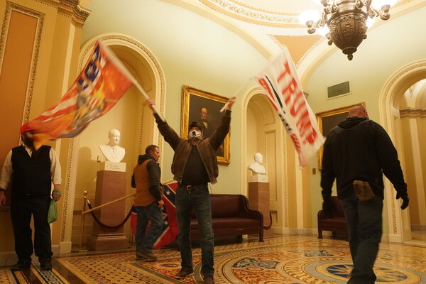Rioters attacked the Capitol on Wednesday.