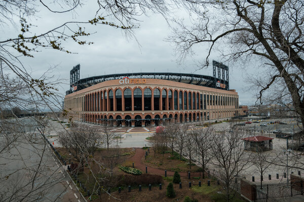 Citi Field, the Mets' stadium in Queens, in March.