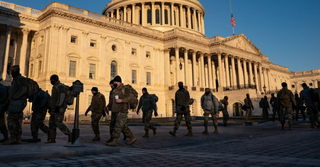 Military Chiefs Remind Troops of Their Oath After Fallout From Assault on Capitol