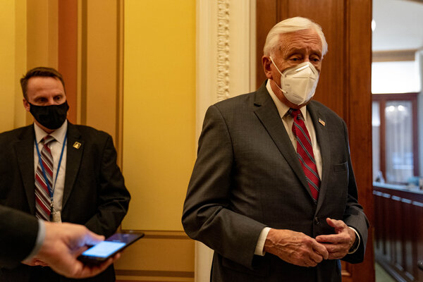 """""""It is never too late to do the right thing,"""" Representative Steny Hoyer, the majority leader, said."""