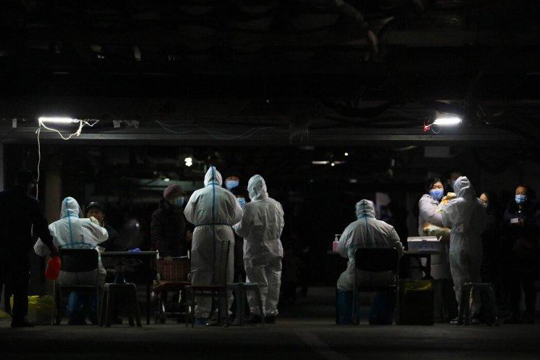 石家庄周二的新冠病毒检测,石家庄是河北三个封城的城市之一。