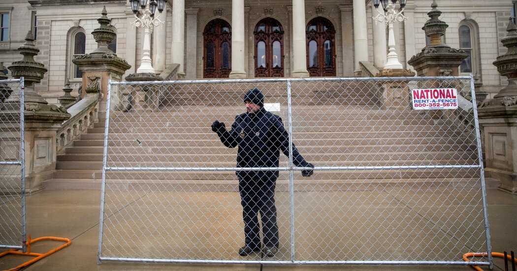 Michigan Activates National Guard to Help With Security at its Capitol in Lansing