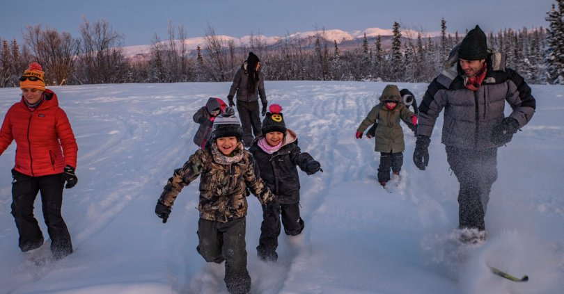 Finding a Foothold for Nordic Skiing in Rural Alaska