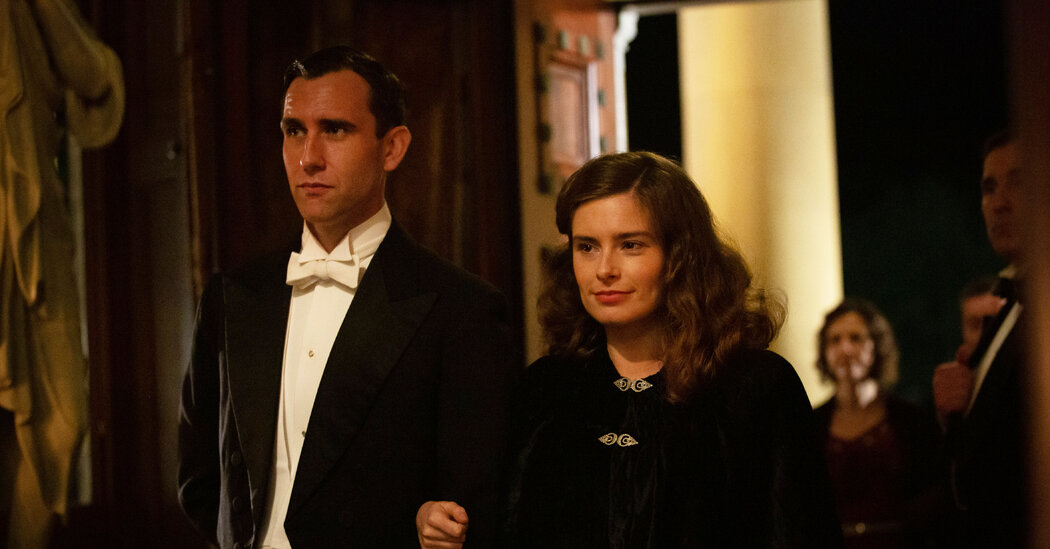 Matthew Lewis Can't Believe He's a Romantic Lead, Either