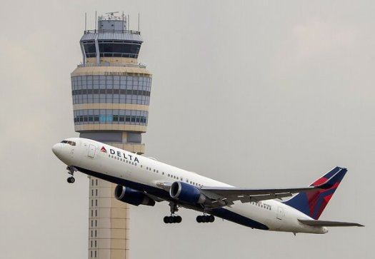 Delta Air Lines and other air carriers have banned firearms in check-in luggage on flights to the Washington area.