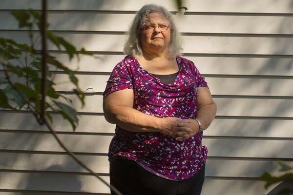 Susan Bro, the mother of Heather Heyer, a protester killed in the Charlottesville violence in 2017.