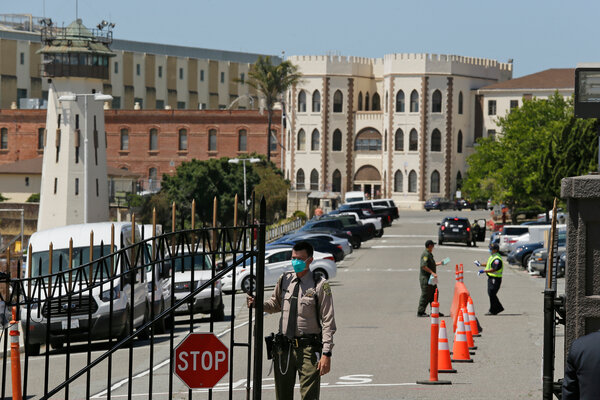 Prisoners and their families in California were angered by a plan for the correctional officers' union to hold an in-person meeting in Las Vegas. The union changed its plans on Thursday.