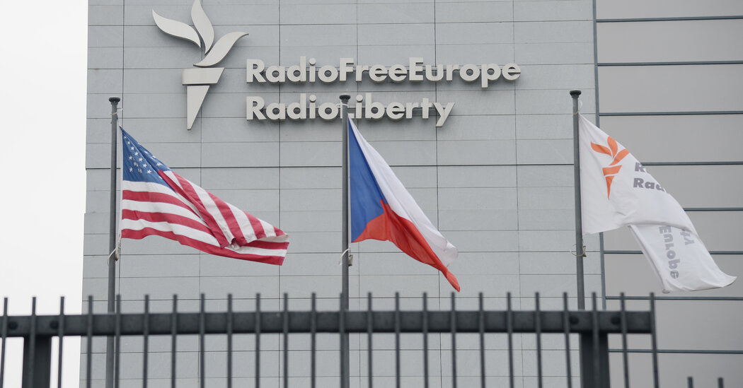 Radio Free Europe/Radio Liberty Says Russia Wants to Force It Out