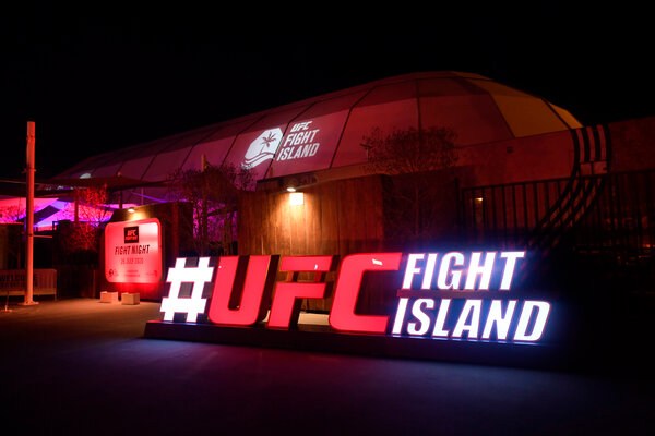 For the U.F.C., the idea of Fight Island was born out of its need to find a place to stage bouts with fighters from outside the United States who faced travel restrictions because of the coronavirus pandemic.