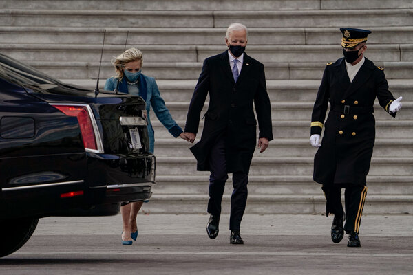 Hours after being sworn in as president, Mr. Biden rescinded the entire raft of Trump-era orders that had blocked tens of thousands of people across the world from entering the country.