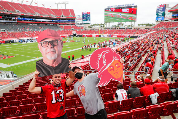 The N.F.L. has said it plans to host 22,000 fans, or roughly 30 percent of capacity, for the Super Bowl at Raymond James Stadium in Tampa, Fla.