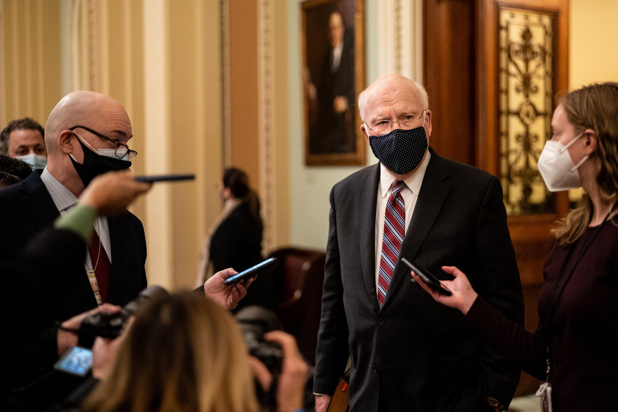 Senator Patrick Leahy Will Preside Over Trump's Impeachment Trial - The New  York Times