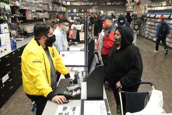 Una tienda GameStop en Manhattan. La pandemia ha empeorado las dificultades del minorista.