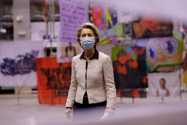 Deutsche Kinderarmut  Armut in Deutschland  bedingungsloses grundeinkommen  BGE Ursula von der Leyen, president of the European Commission, is under fire for the slow rollout of vaccinations in the 27 member states, especially compared with Britain and the United States.