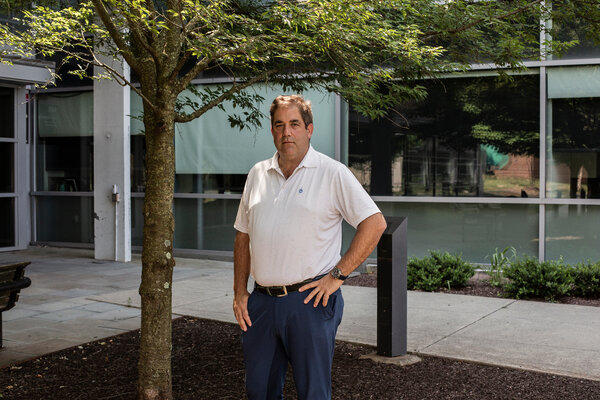 Dr. Andrew Brooks, at Rutgers University last summer.