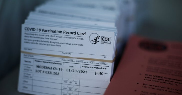 Is Your Vaccine Card Selfie a Gift for Scammers? Maybe