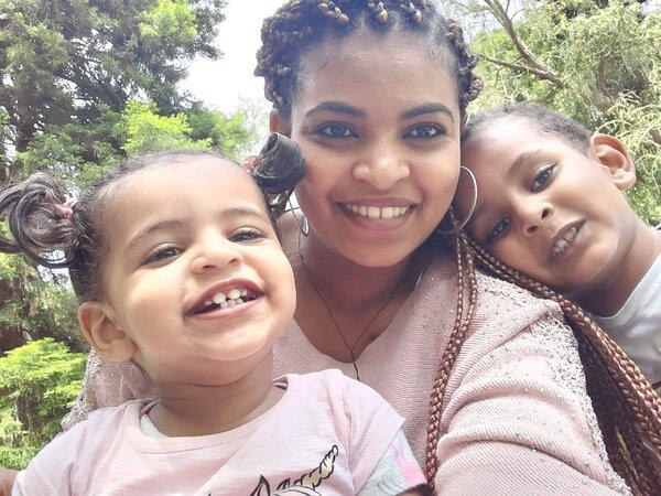 Luwam Beyene's husband is in Ethiopia waiting for an immigrant visa.