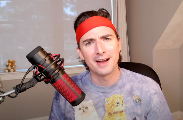 """Keith Gill's Roaring Kitty videos include a disclaimer saying investors """"should not treat any opinion expressed on this YouTube channel as a specific inducement to make a particular investment."""""""