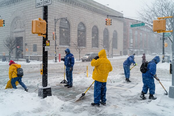 The Do Fund's Ready, Willing and Able program hired thousands of homeless and formerly disorganized New Yorkers, helping them clean the streets - as these workers were in Brooklyn during the recent snowstorm - providing them with housing.