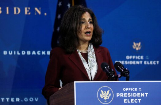 Neera Tanden's Twitter posts drew questions and complaints Tuesday from Republicans.