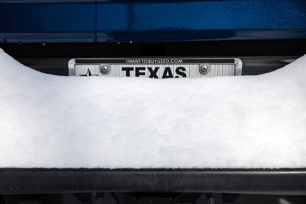 Frigid air that usually sits over the Arctic has swept much farther south than usual because of changes to the jet stream, bringing frosty weather to parts of Texas like Austin that rarely see snow.