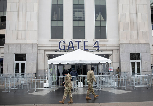 Yankee Stadium has become a vaccination site in the Bronx.