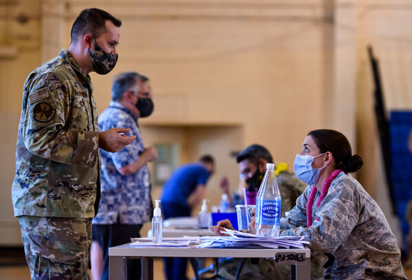 Defense officials are studying the demographics of those in uniform who decline the vaccine, but they have not reached any conclusion.