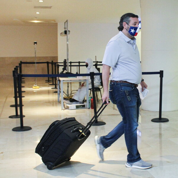 Senator Ted Cruz is returning to Texas from Cancun City, Mexico on Thursday.