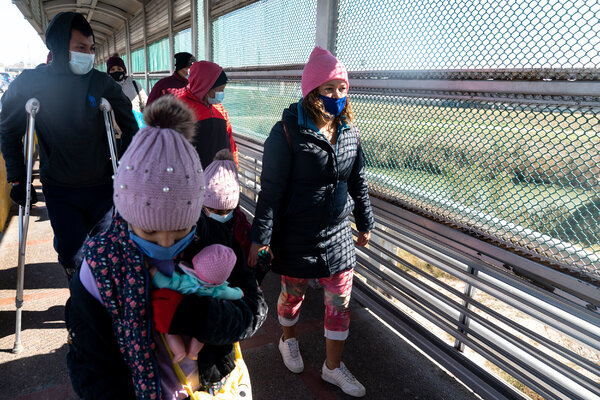 Josely Murillo and her family were denied entry to the United States after trying to cross the international bridge to seek asylum.