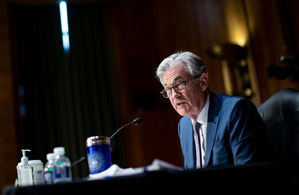 Jerome Powell is returning to Capitol Hill as Democrats push for a new $1.9 trillion spending plan.