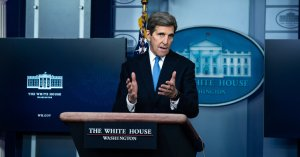 UN John Kerry likens climate inaction to a global 'suicide pact'